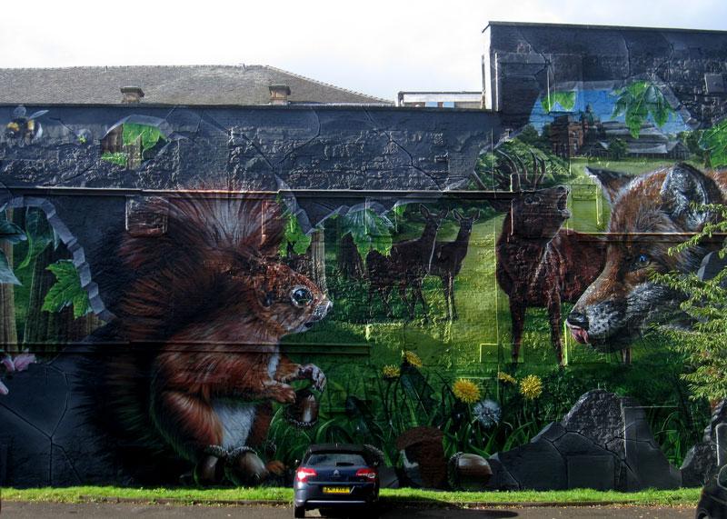 Glasgow Graffiti Forest