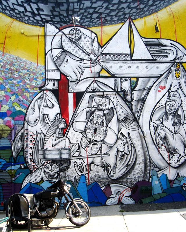 Williamsburg Art + Bike